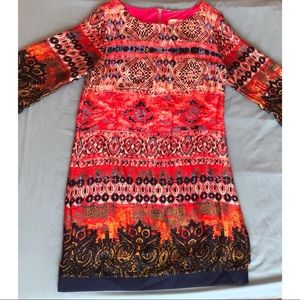 Multi colored Abstract dress